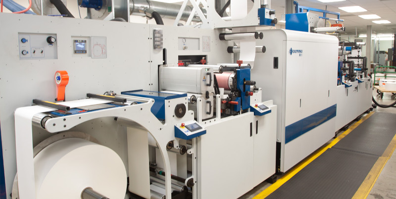 Proud to Announce Our New CEI Domino N610i Hybrid Press